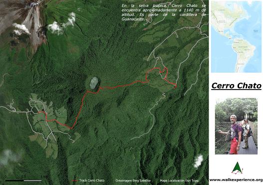 Mapa Cerro Chato