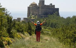 ruta personalizada de senderismo Castillo de Loarre