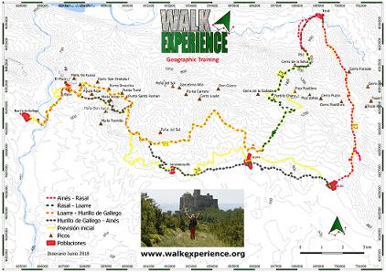 Mapa Ruta Hoya de Huesca