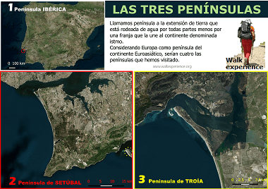 Las tres Penínsulas