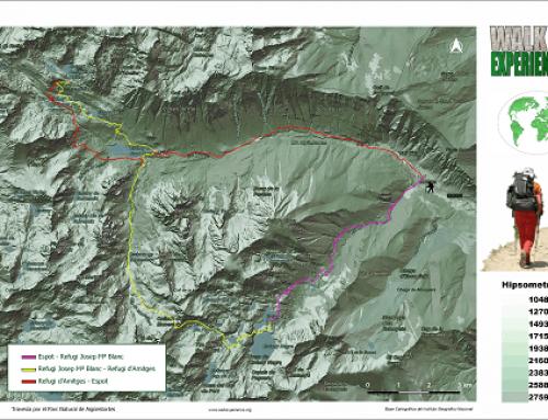 Travesía por el Parque Nacional d'Aigüestortes i Estany de Sant Maurici
