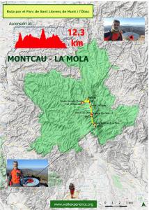 ascensión al Montcau y La Mola
