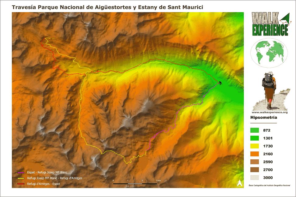 Travesía Parque Nacional de Aigüestortes y Estany de Sant Maurici